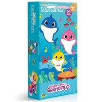 Quebra Cabeça Grandinho Baby Shark 28 Peças - Toyster