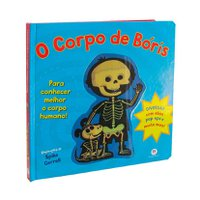 Livro Pop-up O Corpo de Boris - Ciranda Cultural