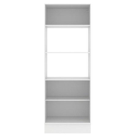 Torre Quente Para 2 Fornos Madesa Smart 100% MDF - Branco/Rustic