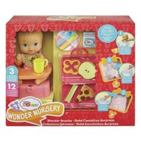 Little Mommy Lanchinhos Surpresa Babador Pizza - Mattel