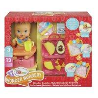 Little Mommy Lanchinhos Surpresa Babador Azul - Mattel