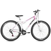 Bicicleta Aro 29 Feminina MTB 21V Fantasy Branca