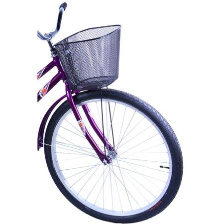 Bicicleta Aro 26 Feminina Freio no Pé CP Malaga Violeta