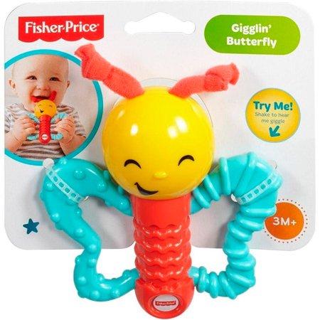 Fisher Price Animais Amigáveis Chocalho Borboleta - Mattel