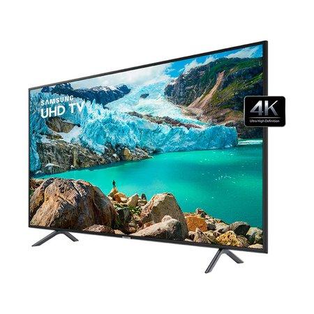 Smart TV 4K LED 75 Polegadas Samsung UN75RU7100 Wi-Fi HDR Conversor Digital 3 HDMI 2 USB