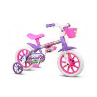 Bicicleta Infantil Aro 12 Violet - Nathor Rosa/Roxa