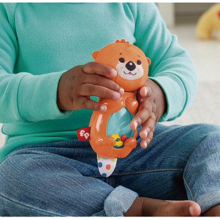 Fisher Price Chocalho Lontra Divertida - Mattel