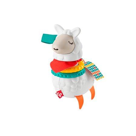 Fisher Price Chocalho Lhama Divertida Click Clack - Mattel