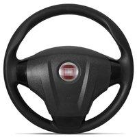 Volante Fiat Palio Siena Strada G1 G2 G3 G4 Idea Uno Stilo Punto Preto com Cubo Embutido