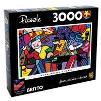Puzzle 3000 peças Romero Britto