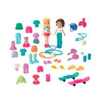 Polly Pocket Kit Diversão Moda Esportiva - Mattel