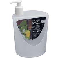 Organizador Suporte Dispenser Detergente Esponja Para Pia Natural