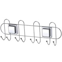 Cabideiro Multiuso Suporte Para Vassouras Fixação Ventosa