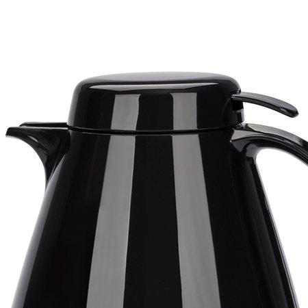 Bule Termico com Gatilho Coza Bule de Café Garrafa Térmica Preto