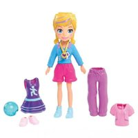 Polly Pocket Estrela do Futebol - Mattel