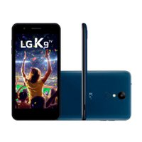 Smartphone LG K9 Dual Chip Android 7.0 Tela 5 16GB 4G TV Câmera 8MP LMX210