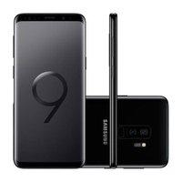 Smartphone Samsung Galaxy S9+ 128GB Câmera 12MP Tela Dual Edge sAMOLED de 5.8 G9650 - Preto
