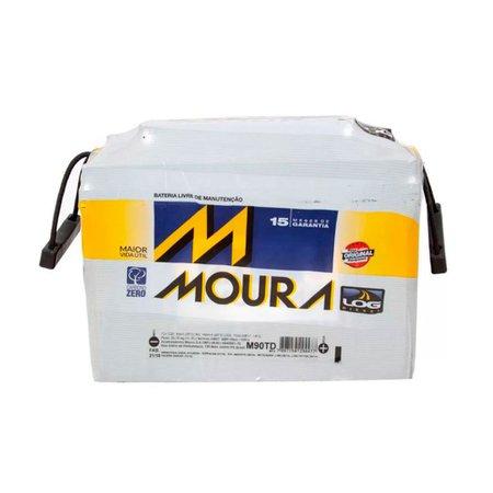 Bateria Automotiva Moura 90AH M90TD MFA