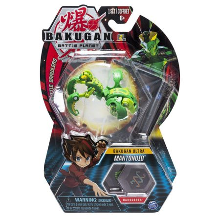 Esfera de Batalha Bakugan Ultra Mantonoid - Sunny