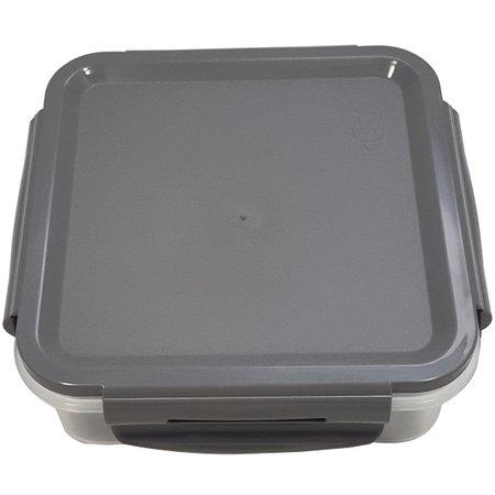 Pote Hermético 500ml Com Travas Click Pequeno Impermeável Chumbo