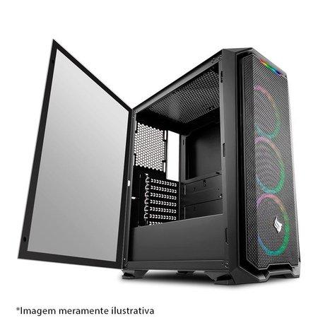 Gabinete Pichau Gaming Gadit X Lateral Vidro Temp, PGG-X01