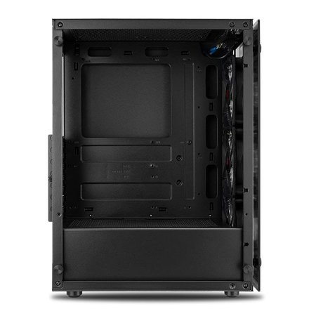 Gabinete Pichau Gaming Magpie III Lateral/Frontal Vidro Led Azul, PGMA-03-BLUE