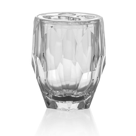 Porta Escovas e Creme Dental Acrílico - Diamond