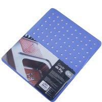 Protetor Pia Para Lavar Escorredor De Louças Grade Protege Azul