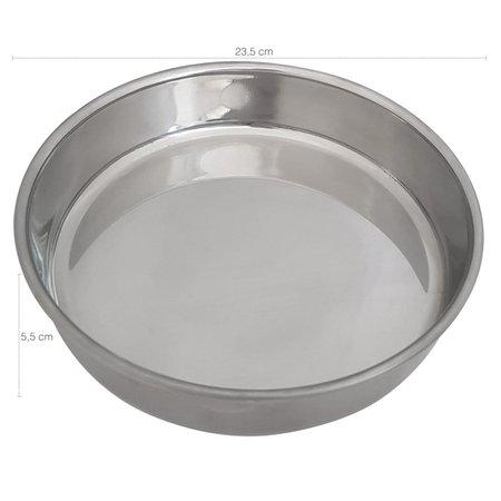 Saladeira Inox Tigela Cozinha Para Saladas Bacia Refratário
