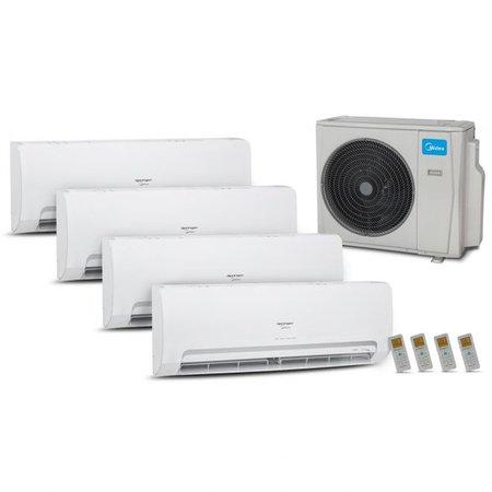 Ar-Condicionado Multi Inverter 36K Bt (3xEvp9+1xEvp18) Q/F