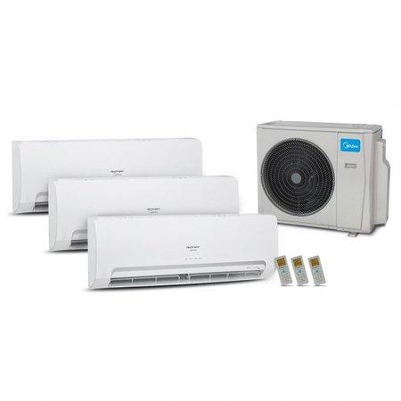Ar condicionado Multi Inverter 36K(1xEv9+1xEv12+1xEv24)Q/F