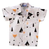 Camisa para Bebê e Kids P Fox Preto