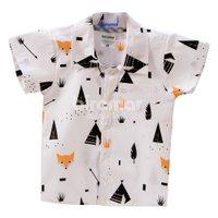Camisa para Bebê e Kids G Fox Preto