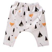 Calça Saruel para Bebê e Kids M - Fox Preto