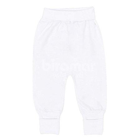 Mijão Pé Reversível para Bebê M - Branco