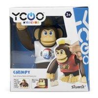 Macaco Interativo Chimpy Silverlit Ycoo Branco - Candide