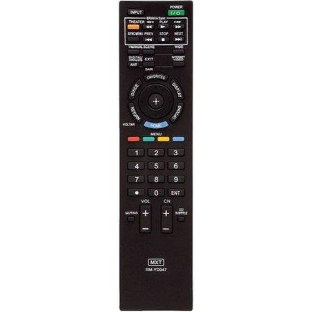Controle Tv Sony Rm-Yd047 Kdl-32Bx305 Kdl-32Ex305 Kdl-32Ex306,Kdl-32Ex405,Kdl-32Ex605,Kdl-32 C01201