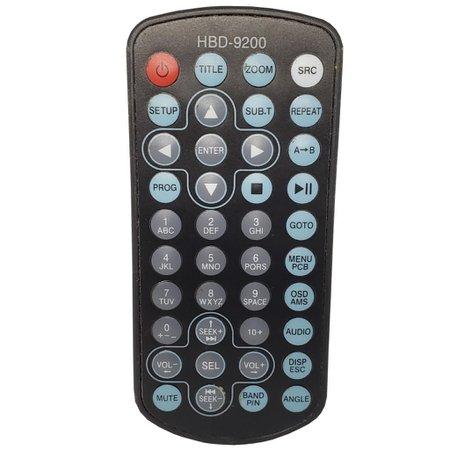 Controle Buster Dvd Automotivo Hbd- 9200 C01154