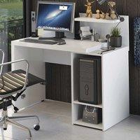Mesa Para Computador Home Urban 2 Prateleiras S973 Branco - Kappesberg