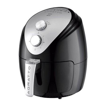 Fritadeira Elétrica Sem óleo Fryer Silver 1270w - Agratto