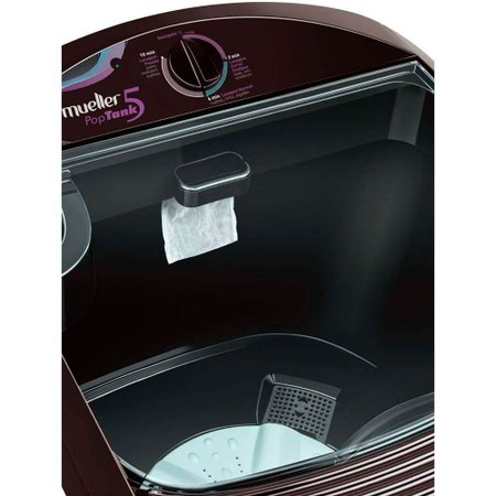 Máquina De Lavar 5kg Poptank 60hz Preto - Mueller