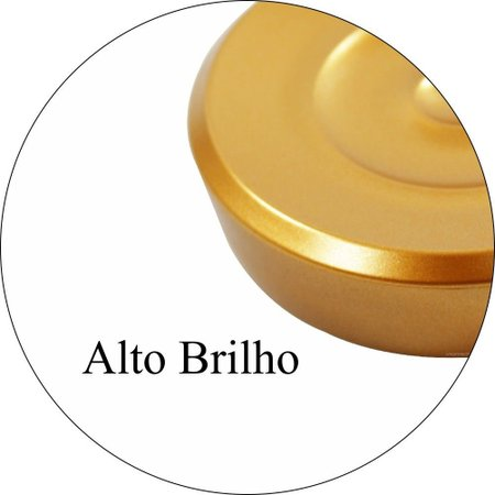 Saboneteira Porta Sabonete Belly Vintage Dourada