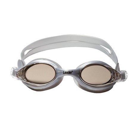 Óculos de natação Leader COMFOFLEX MIRROR Cinza
