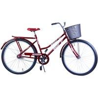 Bicicleta Aro 26 Feminina VB Malaga Vermelha