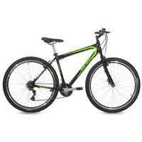 Bicicleta Aro 29 MTB 21V Jaws Mormaii Preto e Verde