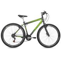 Bicicleta Aro 29 MTB 21V Jaws Mormaii Grafite e Verde