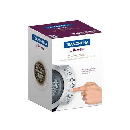 Chaleira Elétrica Tramontina by Breville Smart em Aço Inox Fosco 5 Temperaturas 1,7 L
