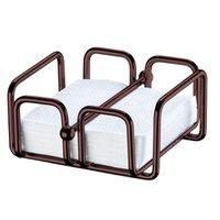 Porta Guardanapos de Papel Pequeno Com Peso Mesa Café Luxuoso