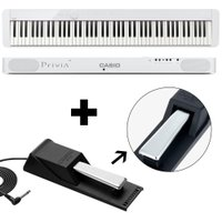 KIT Piano Digital Privia Casio PX-S1000 Pedal Sustain SP20