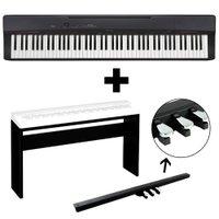 KIT Piano Digital Privia Casio PX160 com Móvel Pedal Triplo